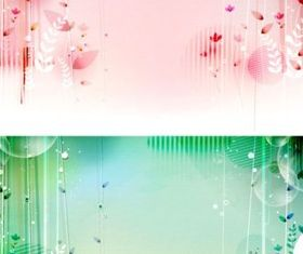 fairy tale world fantasy background design vectors