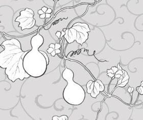 Hand drawn Plant vectors graphic