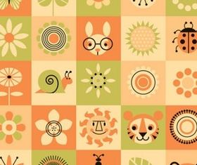 Creative Style Patterns vectors graphic