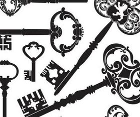 Old Keys free Illustration vector
