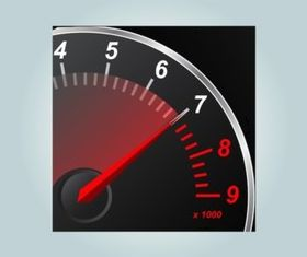 Speedometer Icon design vectors