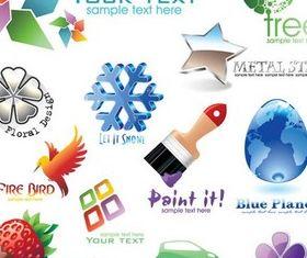 Color Logotypes vectors graphics