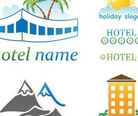 Travel Logotypes vector graphic