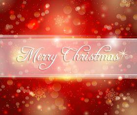decorative christmas background vector