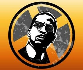 Malcolm X Badge vector