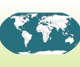 World Map Illustration vector design
