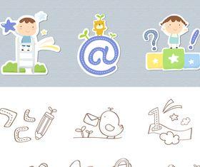 Free School Icons 2 vector