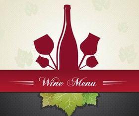 Wine Backgrounds vector design