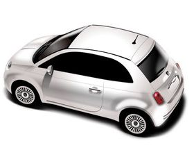 Small car model set vector