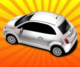 Automobile set vector