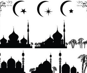 Islamic Elements vectors