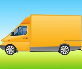 Delivery Van vector graphics