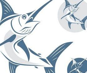Fish Symbols free vector