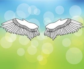 Free Wings Vectors vector
