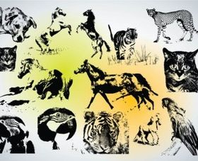 Animal vector graphic