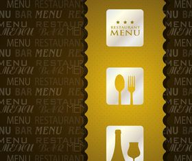 Restaurant menu 1 vector