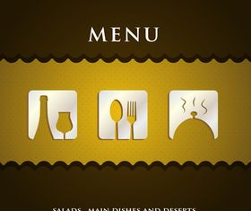 Restaurant menu 2 vector