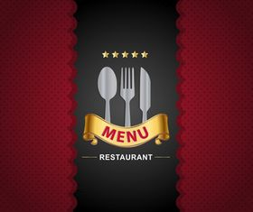 Restaurant menu 4 vector