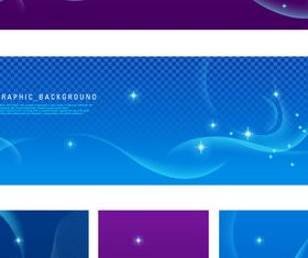 Abstract banner 2 Illustration vector