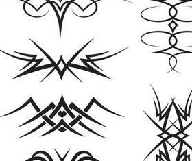 Stylish Tatoo vector