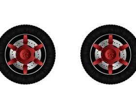 Tire vector set
