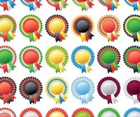Ribbons graphic vector