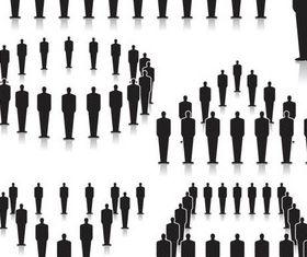 Community People vectors graphic