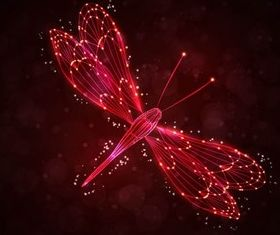 Shiny Insects Backgrounds shiny vector