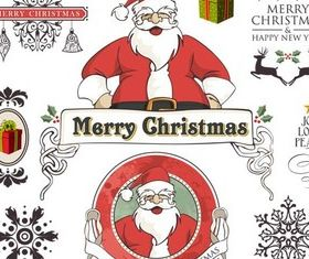 Christmas Elements design vectors