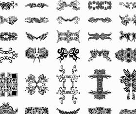 Stylish Tatoo free vectors graphic