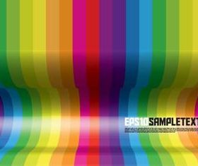 Shiny colored bar background vector