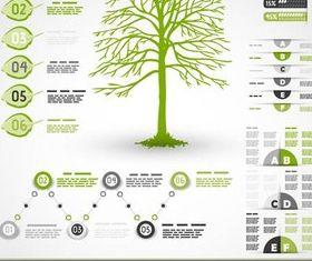 Shiny Ecology Infographics vector