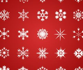 Beautiful snowflake pattern vector