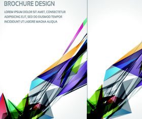Brochure abstract cover 1 vector