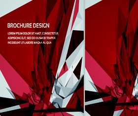 Brochure abstract cover 2 vector