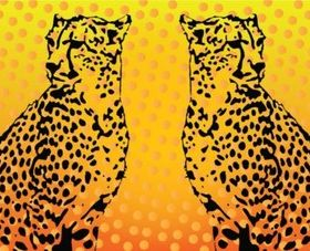 Leopard Graphics design vector
