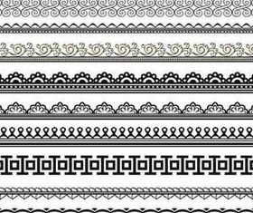 Ornament Borders art Illustration vector