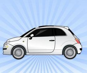 Fiat Car vectors