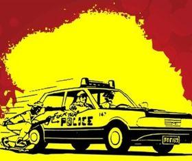 Fuck The Police vector