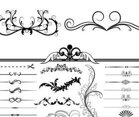 Ornament Borders vector
