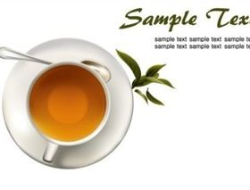 Coffee and tea vector graphics