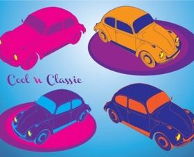 Cool Cars vector