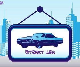 Street Life vector