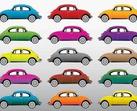 Beetle Cars vector