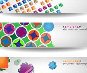 Gray Creative Banners vector