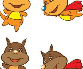 Cartoon Kangaroo vector design