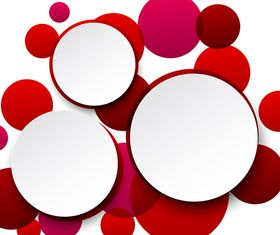 Abstract round background 2 vector