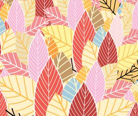 Line autumn pattern background 1 vectors