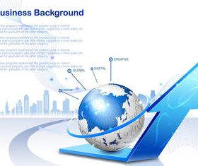 Business style background 3 creative vector
