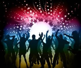 Party Backgrounds vector